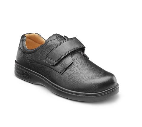 4110-Maggy X-Depth Black Velcro-1