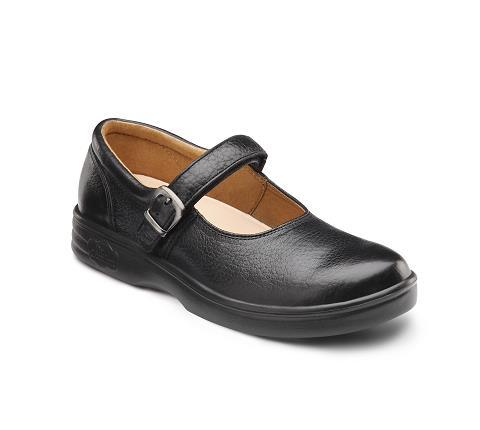 4410-Merry Jane Black Velcro-1