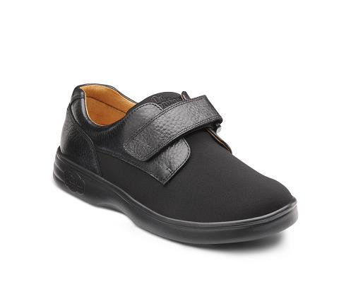 4510-Annie Black Velcro-1