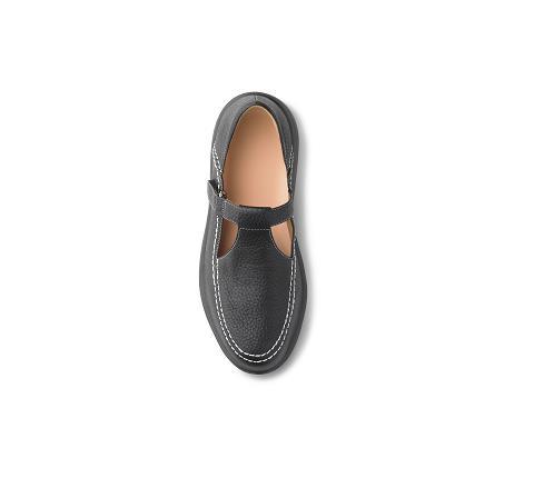 4610-Lu Lu Black Velcro-2