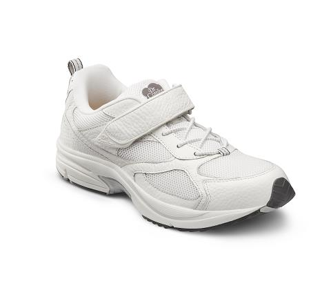 6840-Endurance White Velcro-1