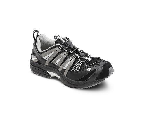 7610-Performance Black/Grey Stretch Lace-1