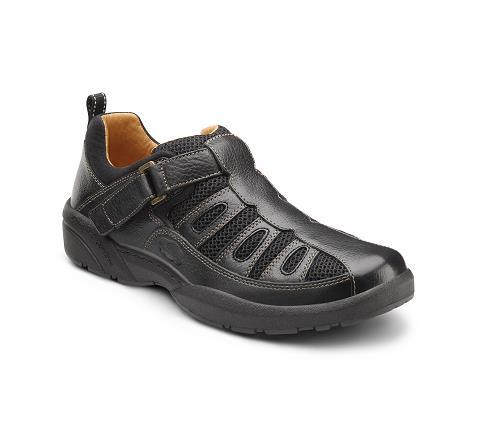 9810-Fisherman Black Velcro-1