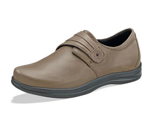 a832w-Linda Taupe Velcro-1