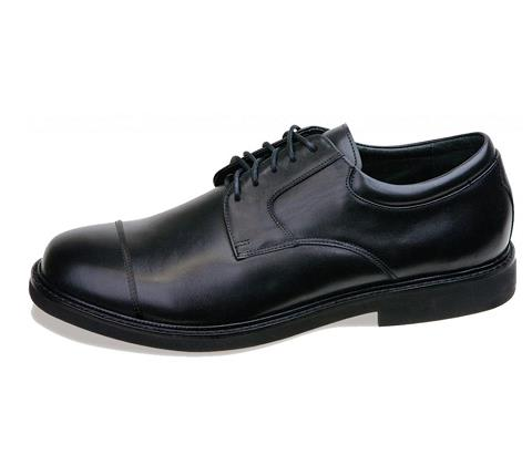 lt600m-Lexington Cap Toe Lace Black-1
