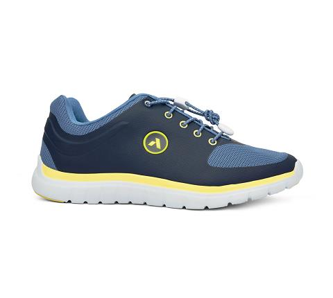 m022:blue:yellow-Sport Runner-Lace-3