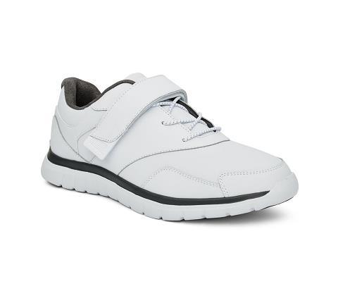 m038:white-Sport Walker-Velcro-1