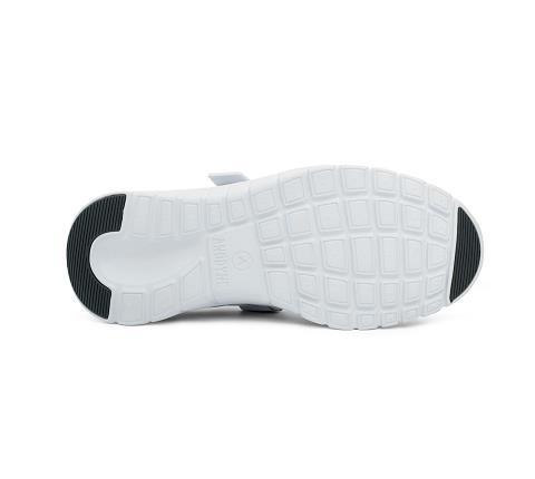 m038:white-Sport Walker-Velcro-2