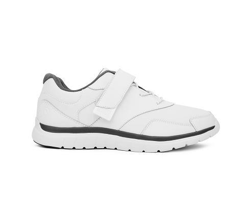 m038:white-Sport Walker-Velcro-3