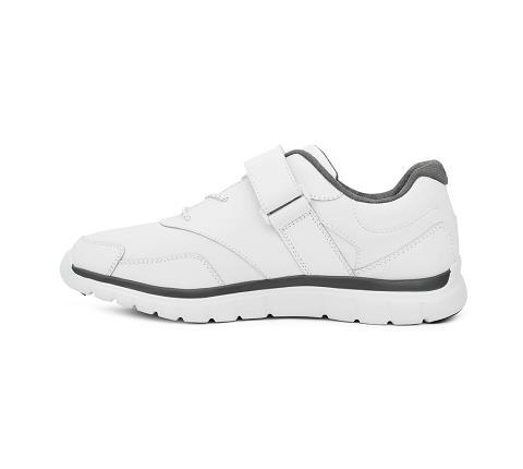 m038:white-Sport Walker-Velcro-4