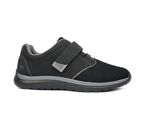 m046:black:grey-Sport Jogger-Velcro-3