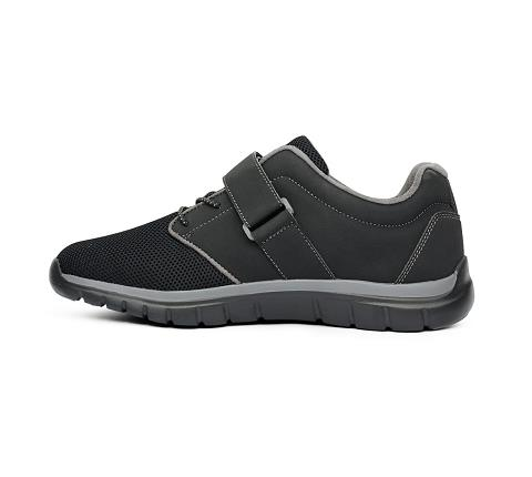 m046:black:grey-Sport Jogger-Velcro-4