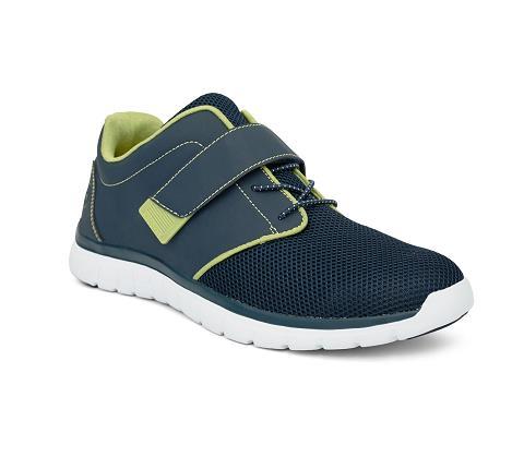m046:blue:green-Sport Jogger-Velcro-1