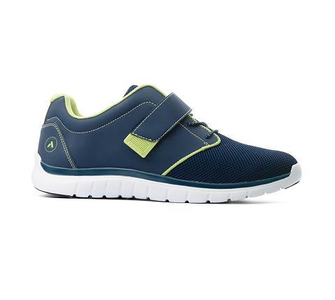 m046:blue:green-Sport Jogger-Velcro-3