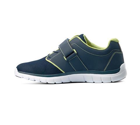 m046:blue:green-Sport Jogger-Velcro-4