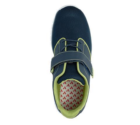 m046:blue:green-Sport Jogger-Velcro-5