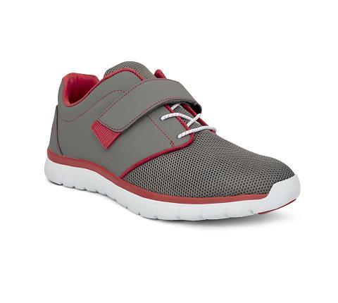 m046:grey:red-Sport Jogger-Velcro-1