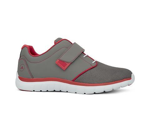 m046:grey:red-Sport Jogger-Velcro-3