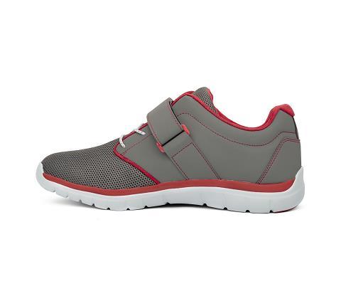 m046:grey:red-Sport Jogger-Velcro-4