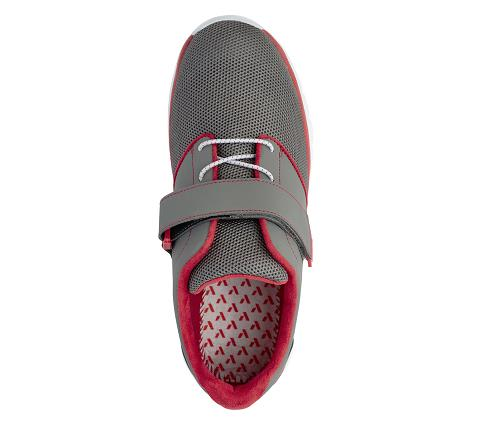 m046:grey:red-Sport Jogger-Velcro-5