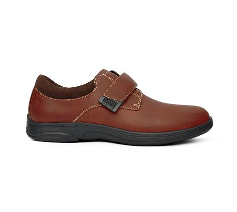 m064:whiskey-Casual Comfort-Velcro-3