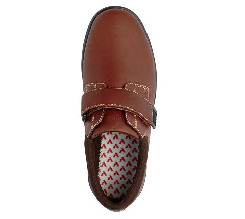 m064:whiskey-Casual Comfort-Velcro-5