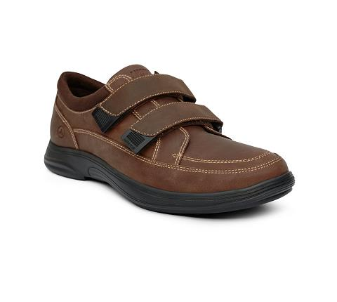 m096:brown-Casual Sport-Velcro-1