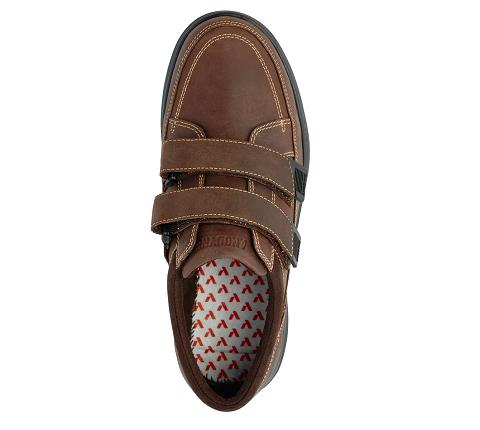 m096:brown-Casual Sport-Velcro-5