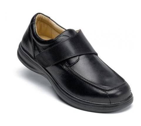 s196:1-London Black Velcro-1