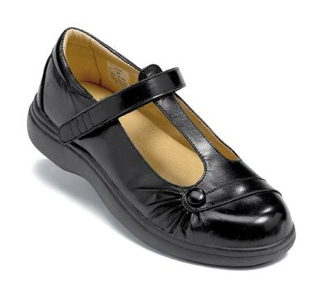 s676:1-Paris Black Velcro-1