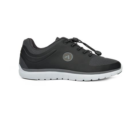 w023:black:grey-Sport Runner-Lace-3