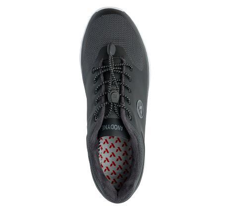 w023:black:grey-Sport Runner-Lace-5
