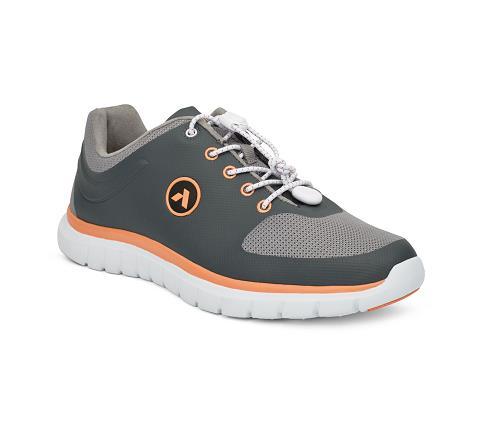 w023:grey:orange-Sport Runner-Lace-1