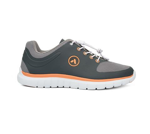 w023:grey:orange-Sport Runner-Lace-3