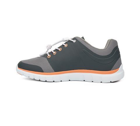 w023:grey:orange-Sport Runner-Lace-4