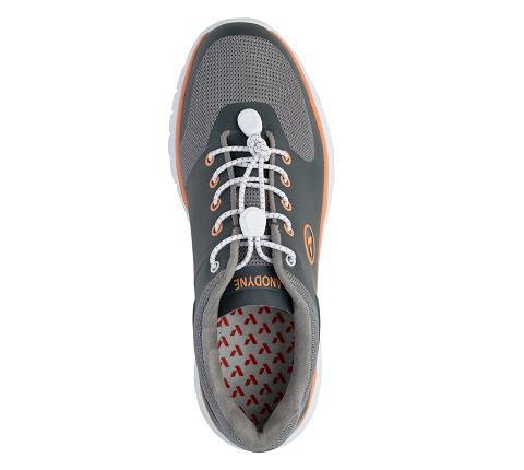 w023:grey:orange-Sport Runner-Lace-5