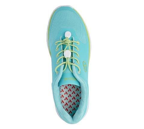 w023:teal:lime-Sport Runner-Lace-5