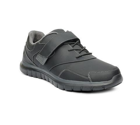 w031:black-Sport Walker-Velcro-1