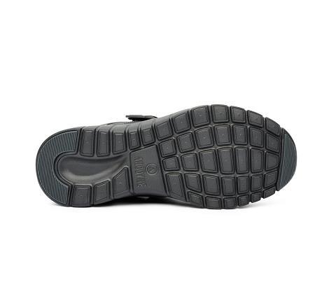 w031:black-Sport Walker-Velcro-2