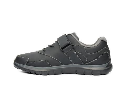 w031:black-Sport Walker-Velcro-4