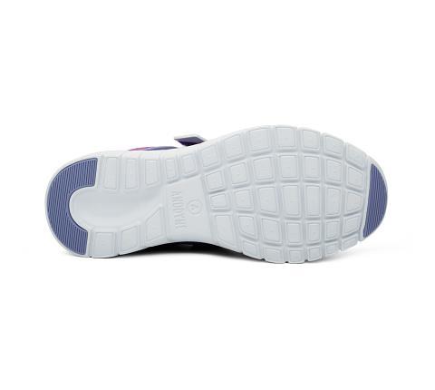 w045:purple:pink-Sport Jogger-Velcro-2
