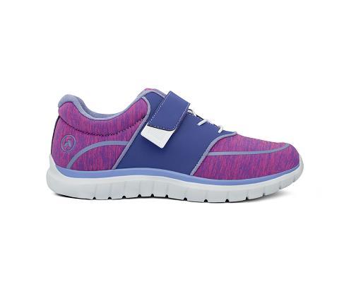 w045:purple:pink-Sport Jogger-Velcro-3