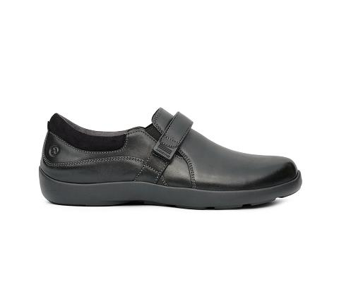 w051:black-Casual Dress-Velcro-3