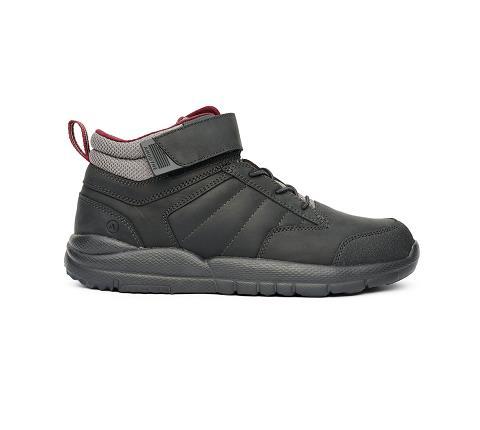 w055:black-Trail Boot-Velcro-3