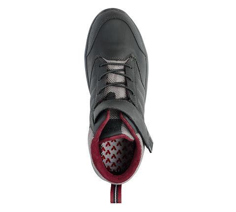 w055:black-Trail Boot-Velcro-5