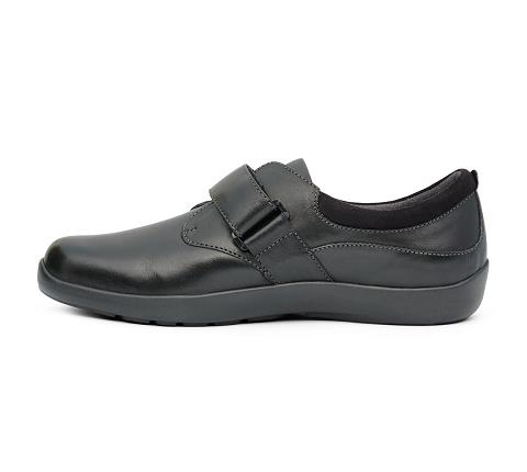 w067:black-Casual Comfort-Velcro-4