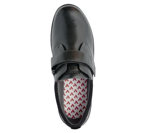 w067:black-Casual Comfort-Velcro-5