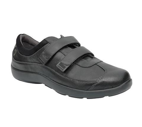 w097:black-Casual Sport-Velcro-1