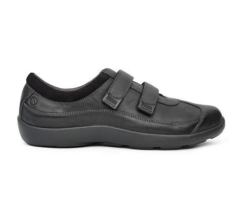 w097:black-Casual Sport-Velcro-4