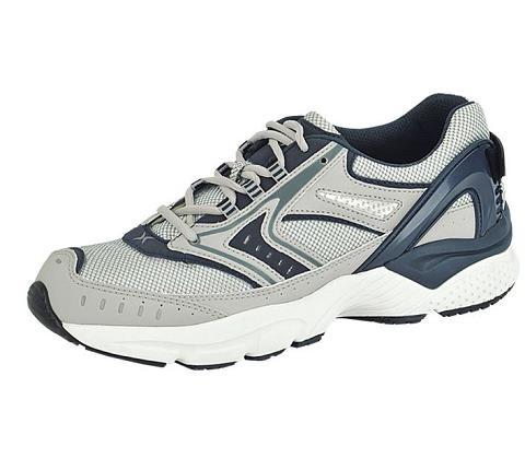 x532m-Rhino Runner Silver/Navy Lace-1